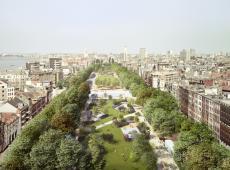 Een virtuele kijk op de nieuwe Antwerpse Gedempte Zuiderdokken